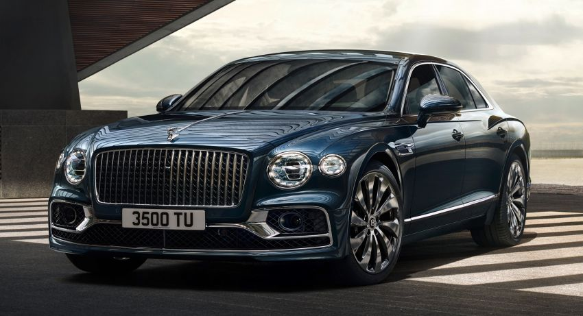 New Bentley Flying Spur – third-gen limo is a 333 km/h 'super-luxury sports sedan' boasting tech and tradition Image #970826