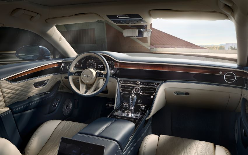 New Bentley Flying Spur – third-gen limo is a 333 km/h 'super-luxury sports sedan' boasting tech and tradition Image #970827