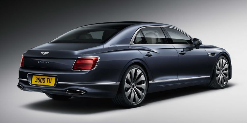 New Bentley Flying Spur – third-gen limo is a 333 km/h 'super-luxury sports sedan' boasting tech and tradition Image #970812