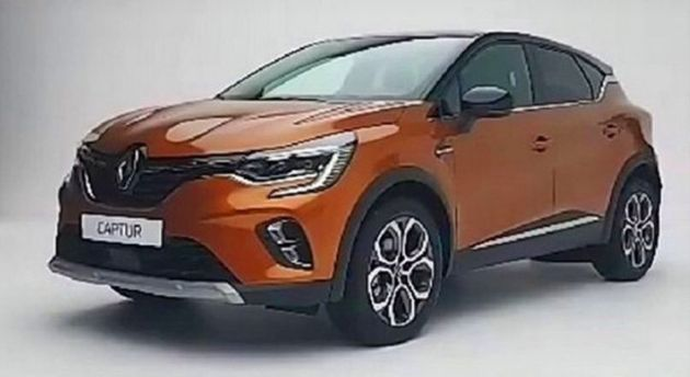 2019 Renault Captur: Redesign, New Platform, Design >> New Renault Captur Leaked Shows Megane Like Face