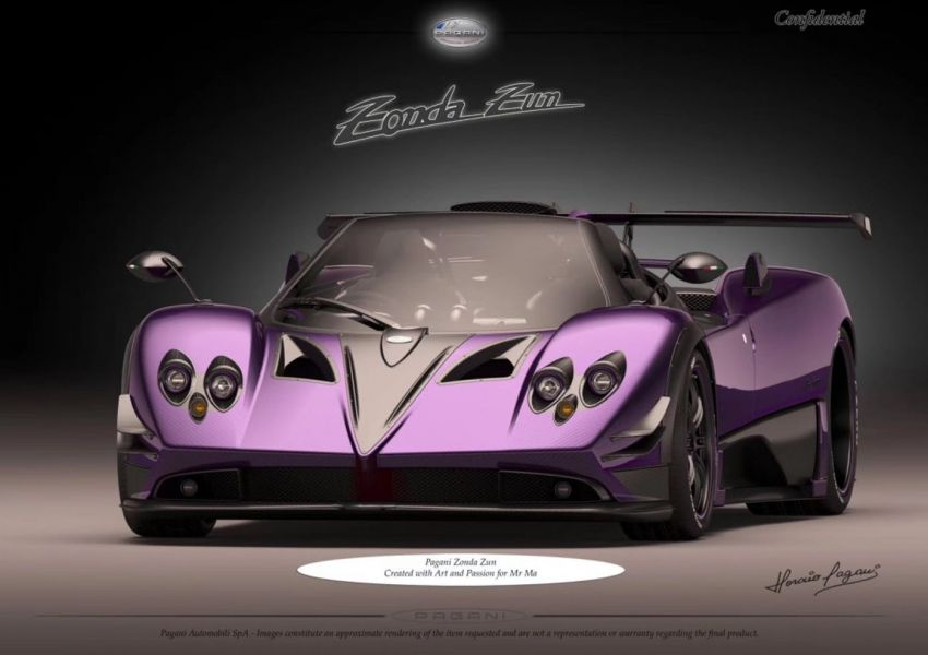 Pagani Zonda Zun – images of one-off build leaked Image #969586