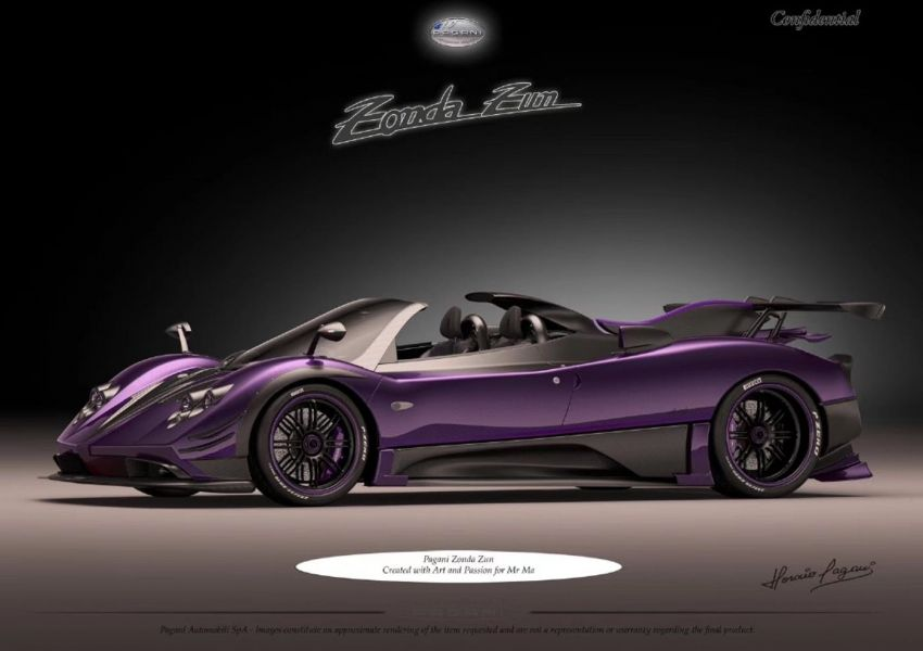 Pagani Zonda Zun – images of one-off build leaked Image #969587