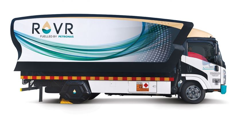 Petronas introduces ROVR mobile refuelling service Image #972787