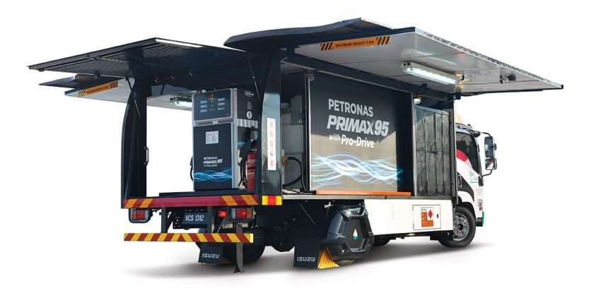 Petronas introduces ROVR mobile refuelling service Image #972788