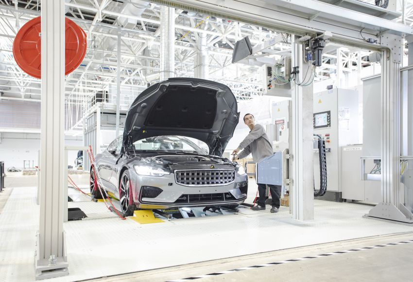 Polestar rolls out final prototypes from Chengdu plant Image #969381