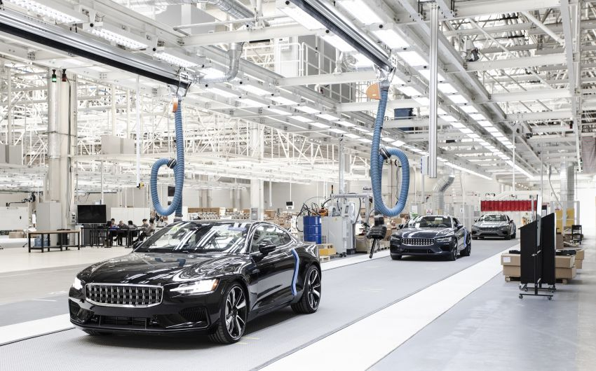Polestar rolls out final prototypes from Chengdu plant Image #969382