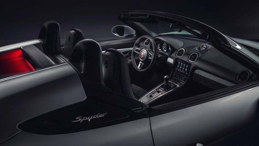 Porsche 718 Cayman GT4, Boxster Spyder didedahkan – model tertinggi dengan enjin 4.0L, 420 PS/420 Nm! Image #973608