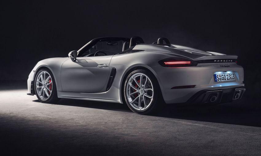 Porsche 718 Cayman GT4, Boxster Spyder didedahkan – model tertinggi dengan enjin 4.0L, 420 PS/420 Nm! Image #973607