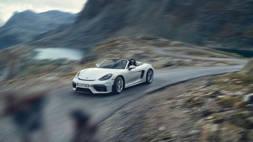 Porsche 718 Cayman GT4, Boxster Spyder didedahkan – model tertinggi dengan enjin 4.0L, 420 PS/420 Nm! Image #973606
