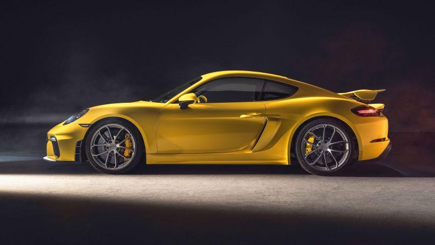 Porsche 718 Cayman GT4, Boxster Spyder didedahkan – model tertinggi dengan enjin 4.0L, 420 PS/420 Nm! Image #973611