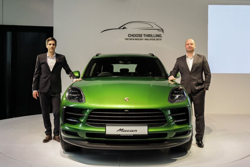 Porsche Macan facelift launched in Malaysia as base 2.0 litre model – 252 PS, 370 Nm; prices from RM455k Image #975415