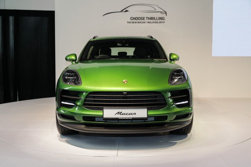 Porsche Macan facelift launched in Malaysia as base 2.0 litre model – 252 PS, 370 Nm; prices from RM455k Image #975418