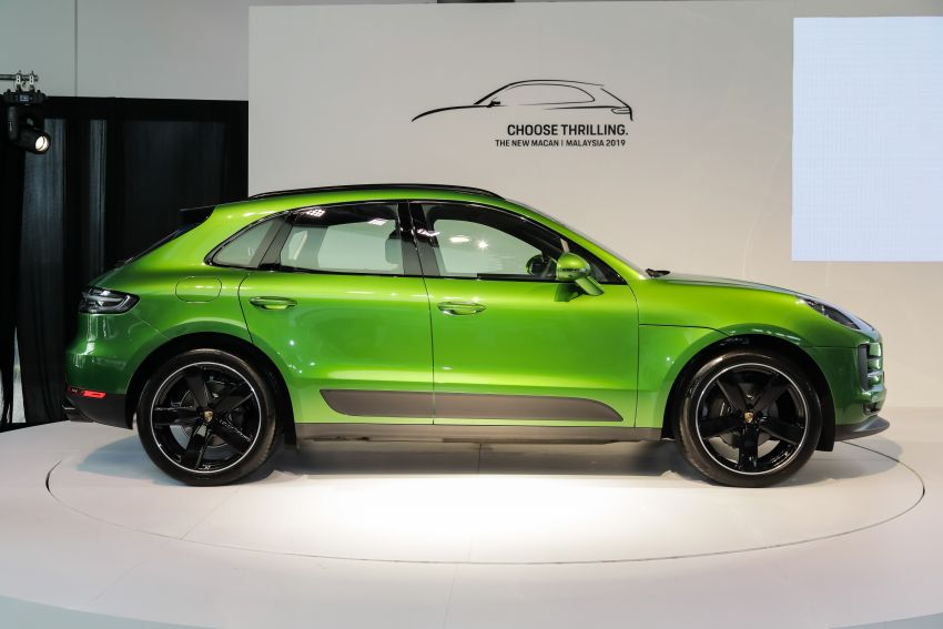 Porsche Macan facelift launched in Malaysia as base 2.0 litre model – 252 PS, 370 Nm; prices from RM455k Image #975421