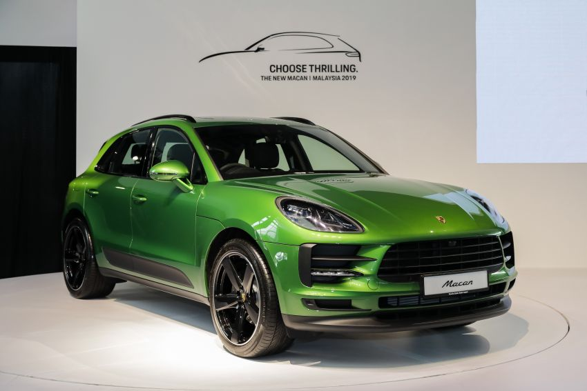 Porsche Macan facelift launched in Malaysia as base 2.0 litre model – 252 PS, 370 Nm; prices from RM455k Image #975423
