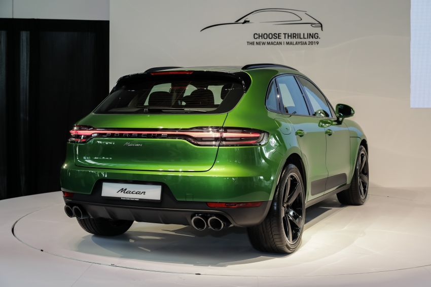 Porsche Macan facelift launched in Malaysia as base 2.0 litre model – 252 PS, 370 Nm; prices from RM455k Image #975424