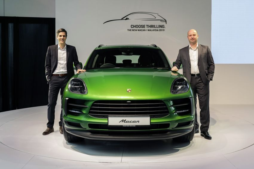 Porsche Macan facelift launched in Malaysia as base 2.0 litre model – 252 PS, 370 Nm; prices from RM455k Image #975413