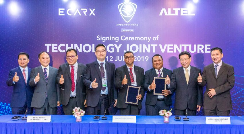 Proton, Altel, ECarX jalin kerjasama teknologi digital Image #971160