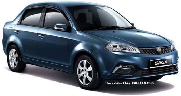 Fair Market Value Car Calculator >> 2019 Proton Saga facelift rendered based on...FLX?