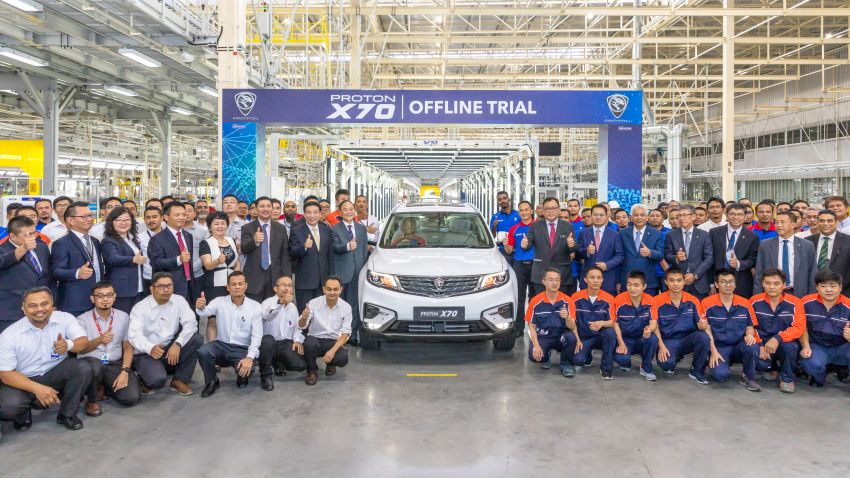 Proton X70 – CKD trials kick off, production in 2nd half Image #971095