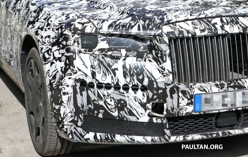SPYSHOTS: Next Rolls-Royce Ghost spotted on test Image #970010