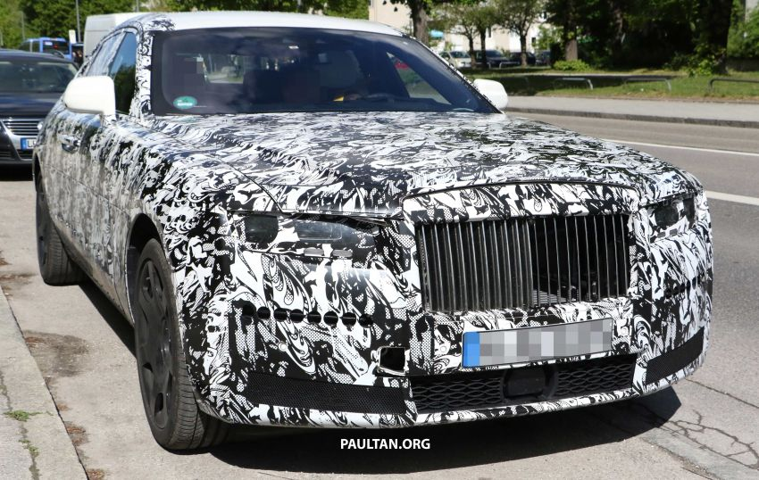 SPYSHOTS: Next Rolls-Royce Ghost spotted on test Image #970001