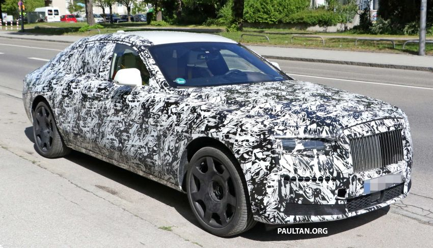 SPYSHOTS: Next Rolls-Royce Ghost spotted on test Image #970002