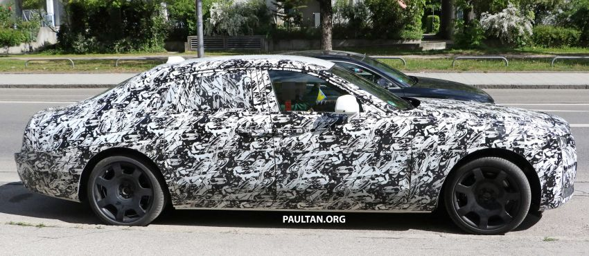 SPYSHOTS: Next Rolls-Royce Ghost spotted on test Image #970005