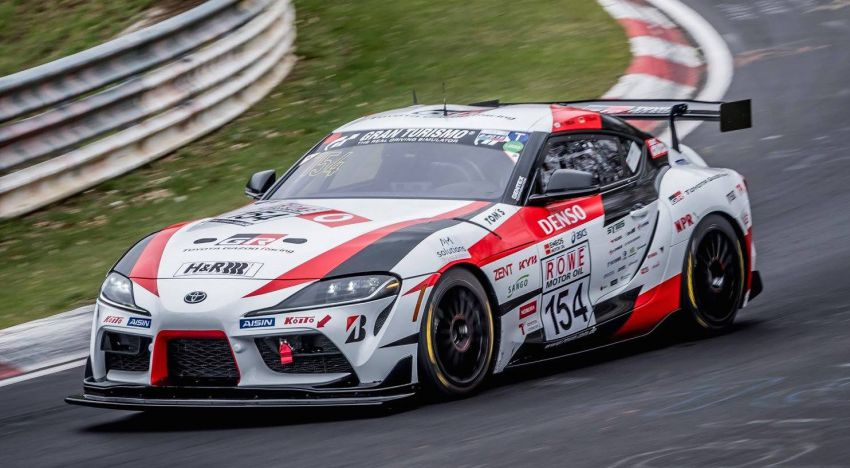 Toyota Supra to enter 24 Hours of Nurburgring race Image #970588