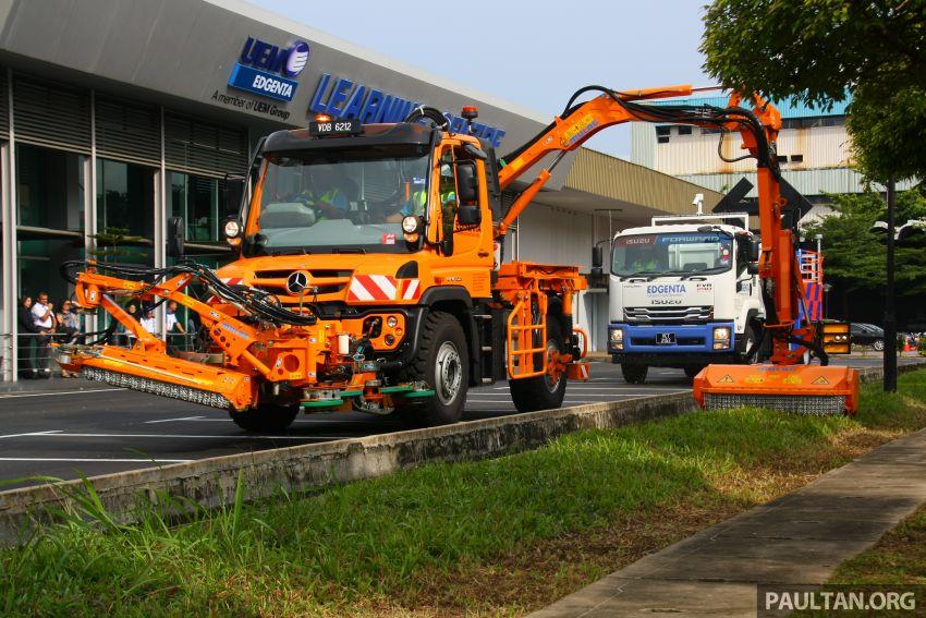 UEM Edgenta, MHA, CIDB sign safer highways MoU; mechanised highway maintenance machines launched Image #974396