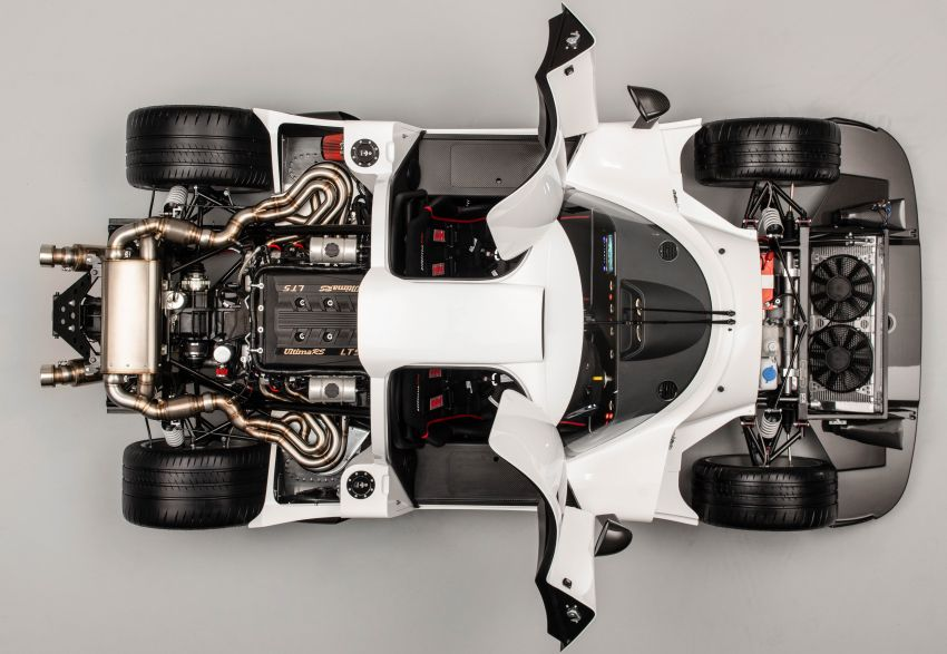 Ultima RS revealed – 1,200 hp, 400 km/h, road-legal Image #970184