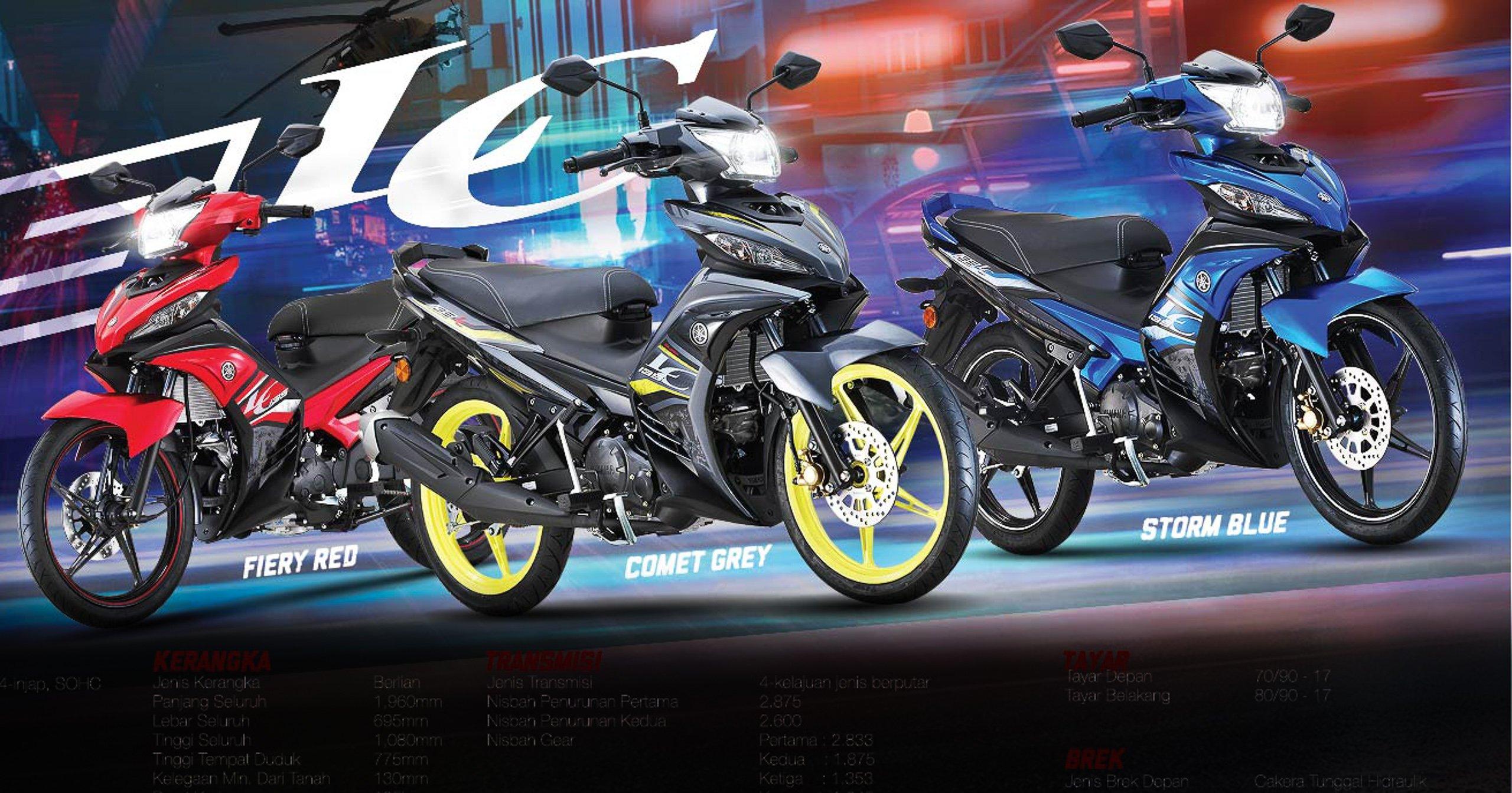 2019 Yamaha 135LC on sale in Malaysia, RM6,868