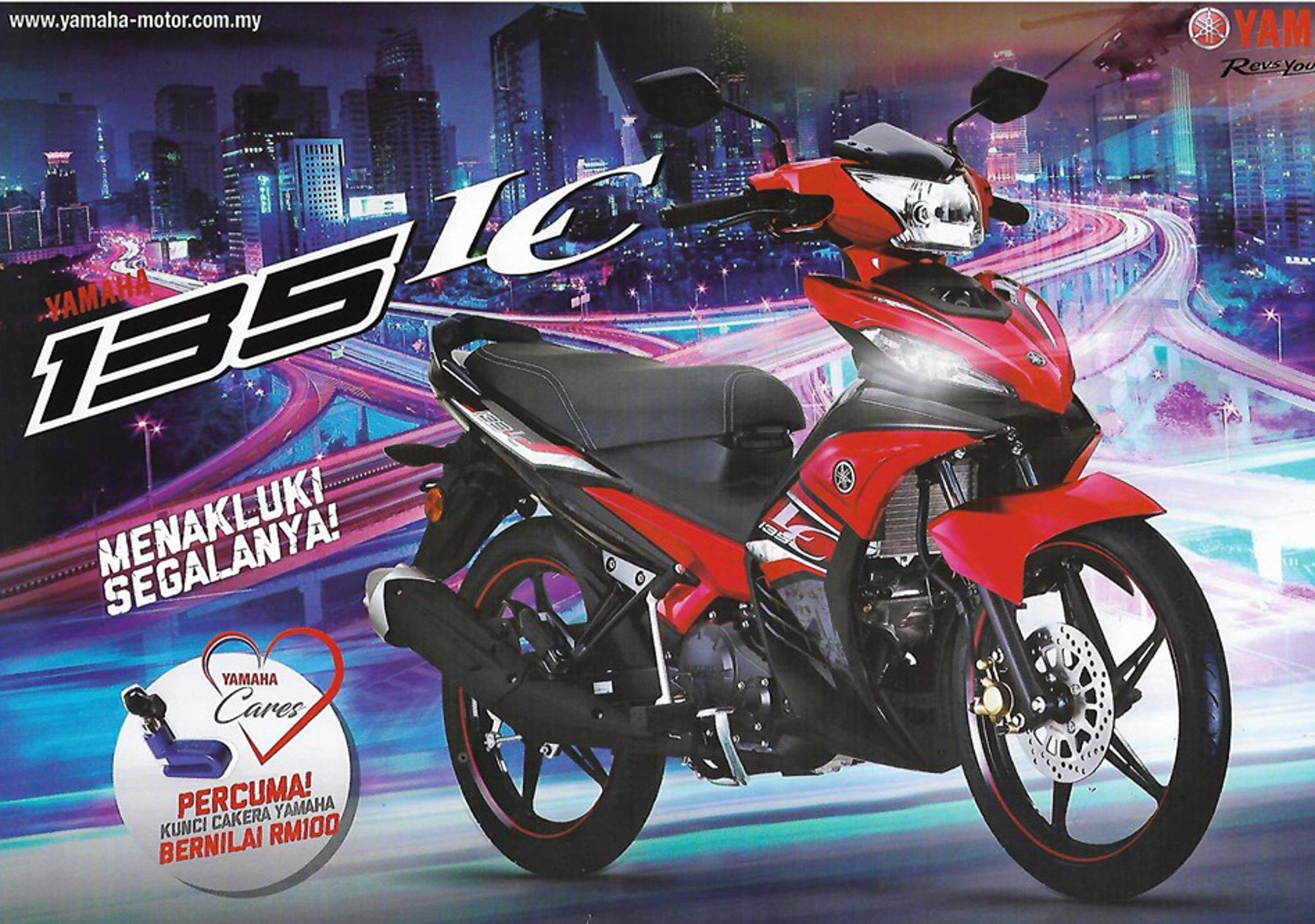 Yamaha LC135 V6 - risalah sudah diedar, harga naik?