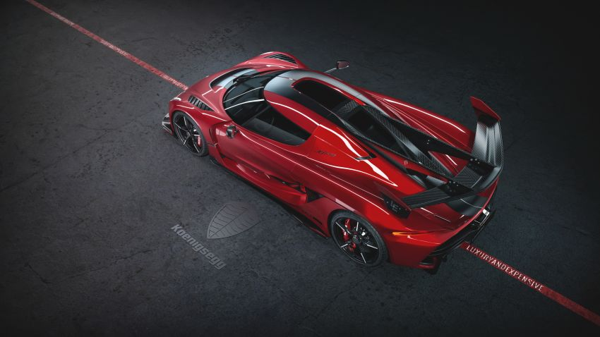 Koenigsegg Jesko Red Cherry one-off edition revealed Image #972357