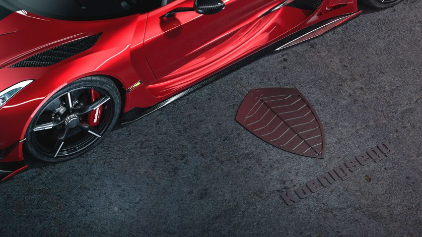 Koenigsegg Jesko Red Cherry one-off edition revealed Image #972360
