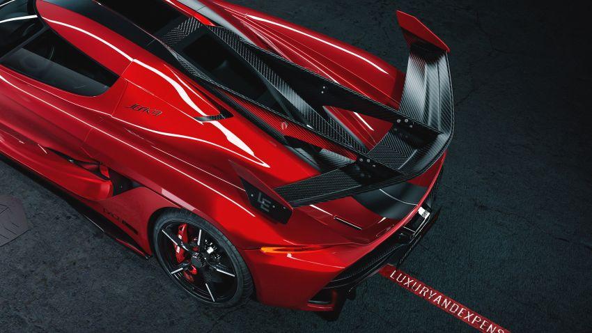 Koenigsegg Jesko Red Cherry one-off edition revealed Image #972366