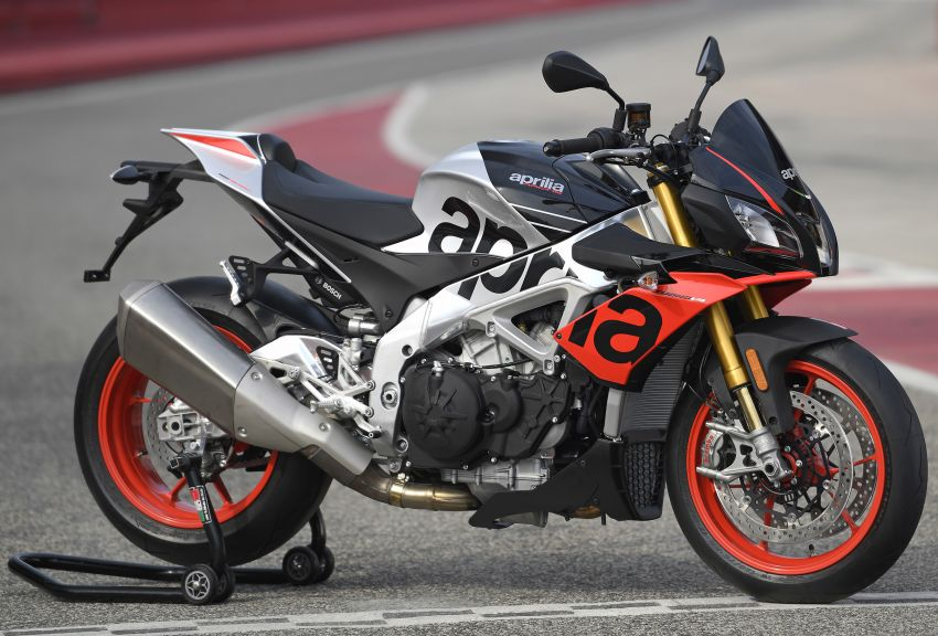 2019 Aprilia Tuono V4 1100 Factory Malaysia price announced – RM119,000, electronic suspension Image #983215