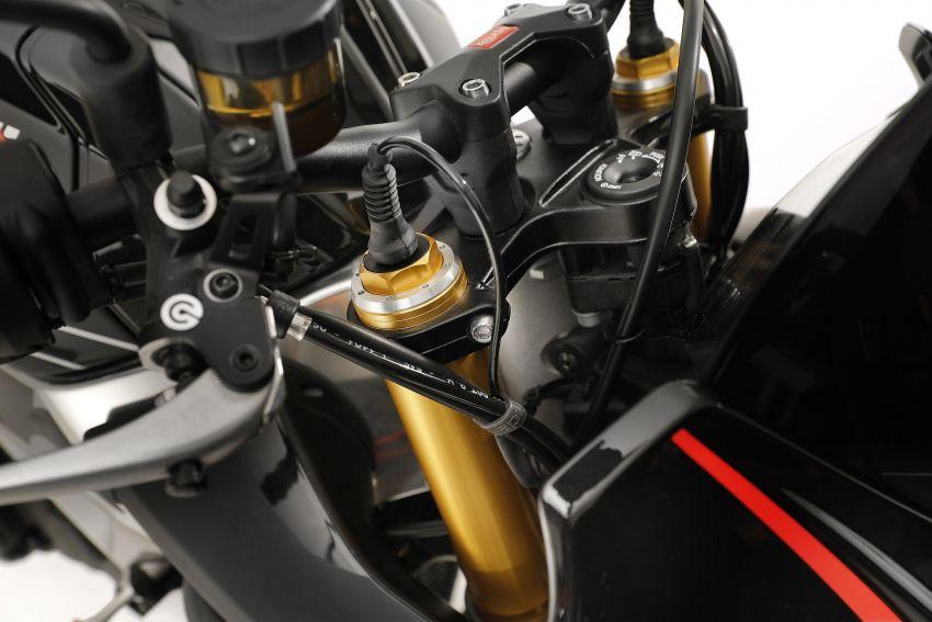 2019 Aprilia Tuono V4 1100 Factory Malaysia price announced – RM119,000, electronic suspension Image #983200