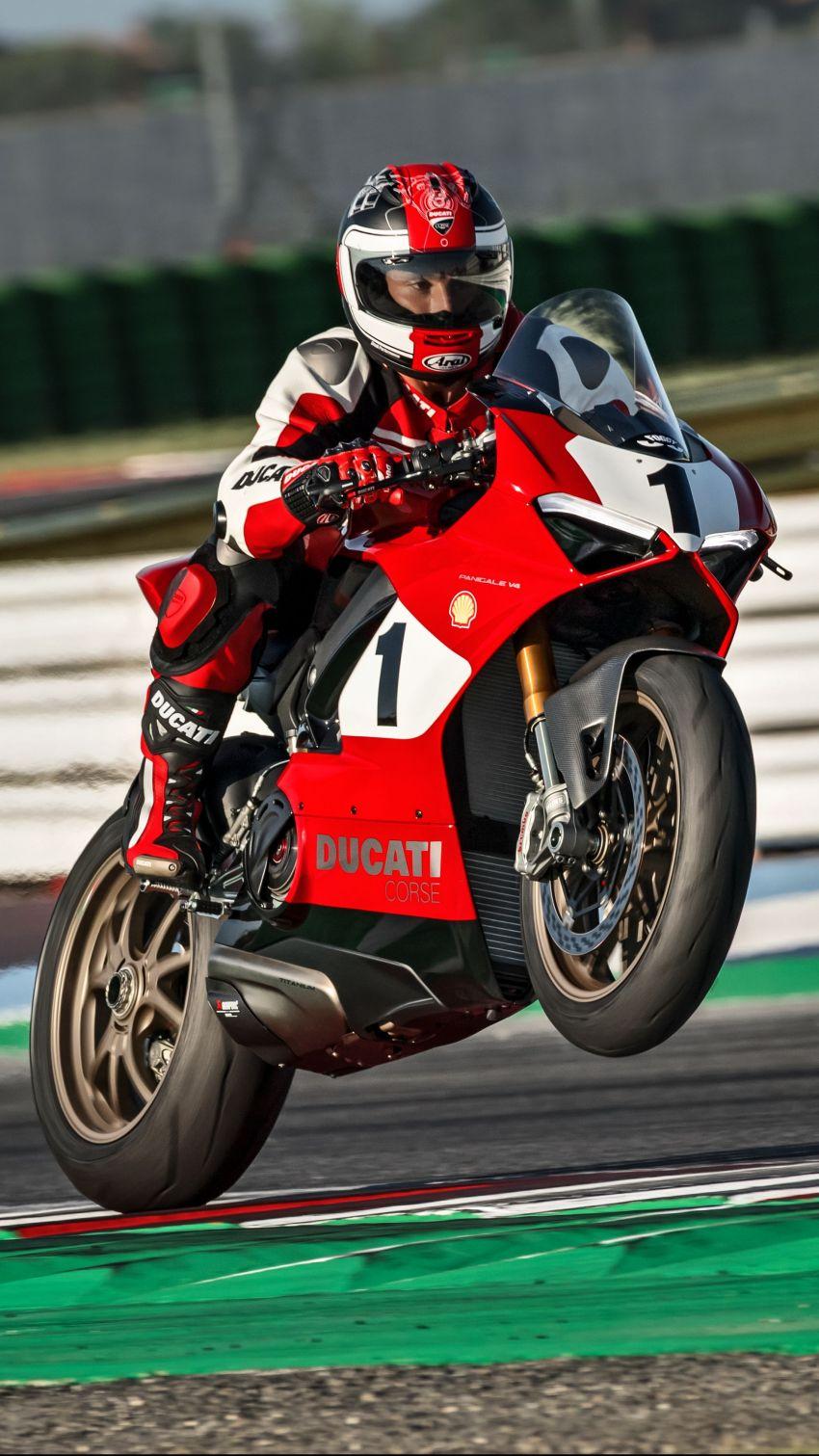 Ducati Panigale V4 25th Anniversario 916 – peringatan kepada 916 yang menggegarkan dunia superbike dulu Image #985677