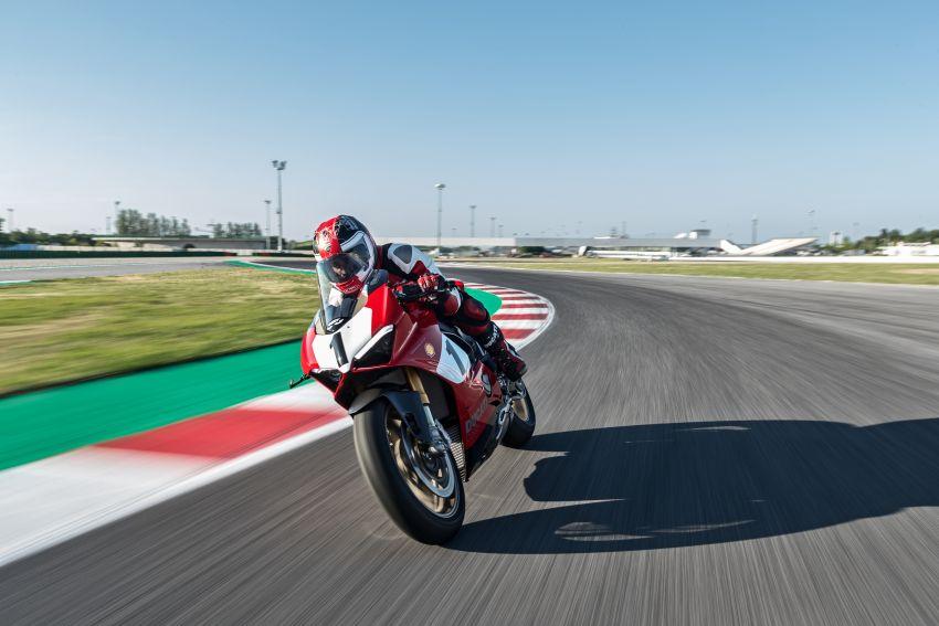 Ducati Panigale V4 25th Anniversario 916 – peringatan kepada 916 yang menggegarkan dunia superbike dulu Image #985683
