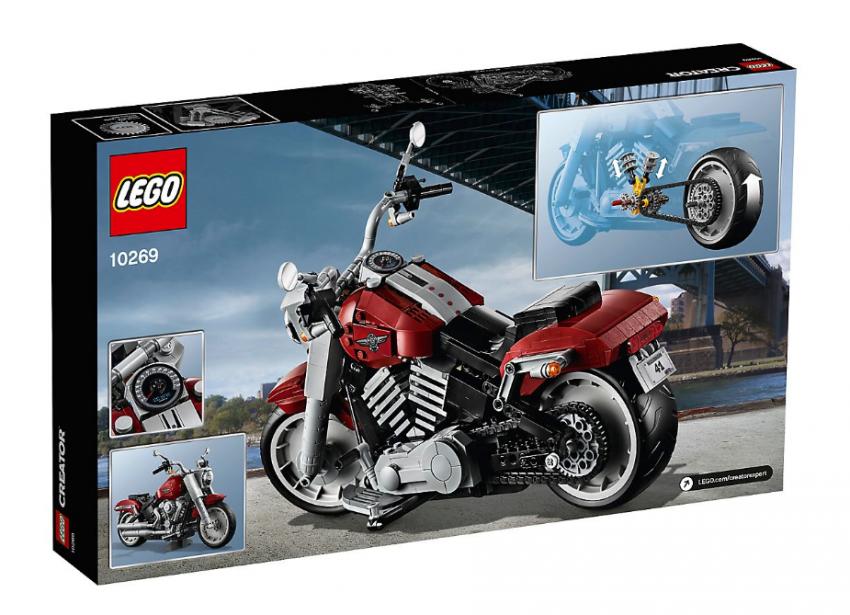 Lego Harley-Davidson Fat Boy on sale August 1 Image #983738