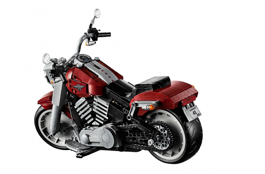 Lego Harley-Davidson Fat Boy on sale August 1 Image #983740