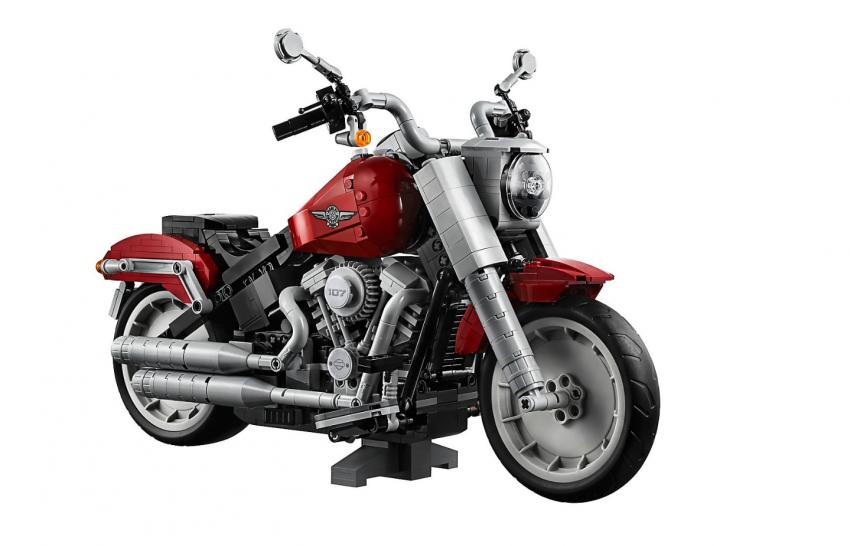 Lego Harley-Davidson Fat Boy on sale August 1 Image #983741