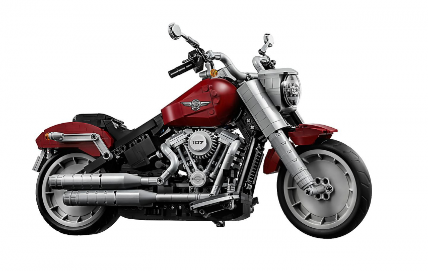 Lego Harley-Davidson Fat Boy on sale August 1 Image #983743