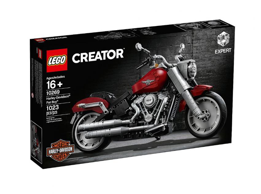 Lego Harley-Davidson Fat Boy on sale August 1 Image #983744