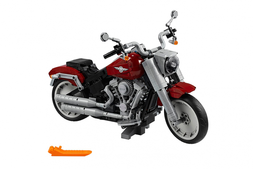 Lego Harley-Davidson Fat Boy on sale August 1 Image #983745
