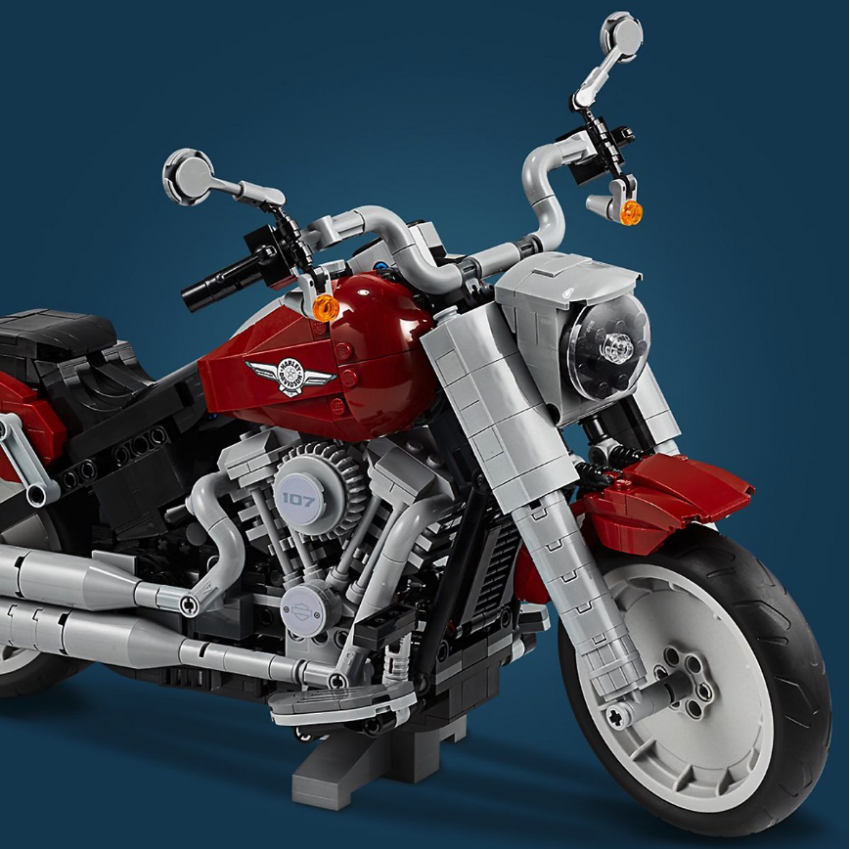 Lego Harley-Davidson Fat Boy on sale August 1 Image #983729