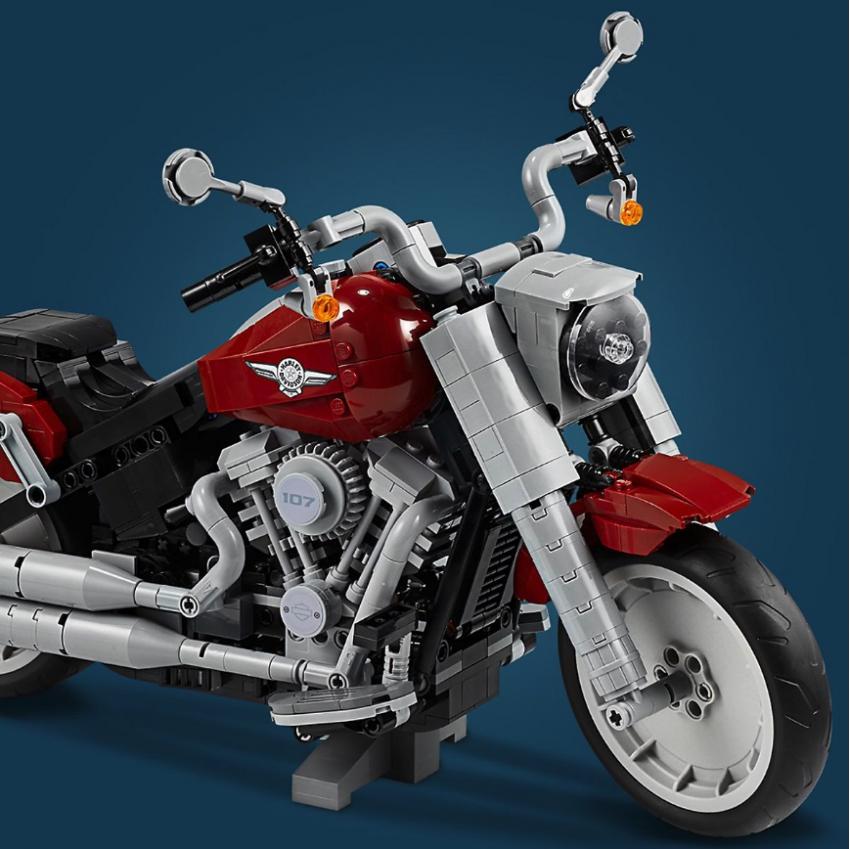 Lego Harley-Davidson Fat Boy on sale August 1 Image #983729