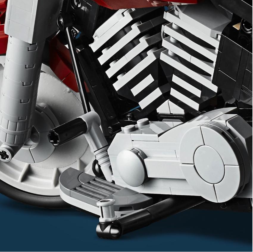 Lego Harley-Davidson Fat Boy on sale August 1 Image #983731