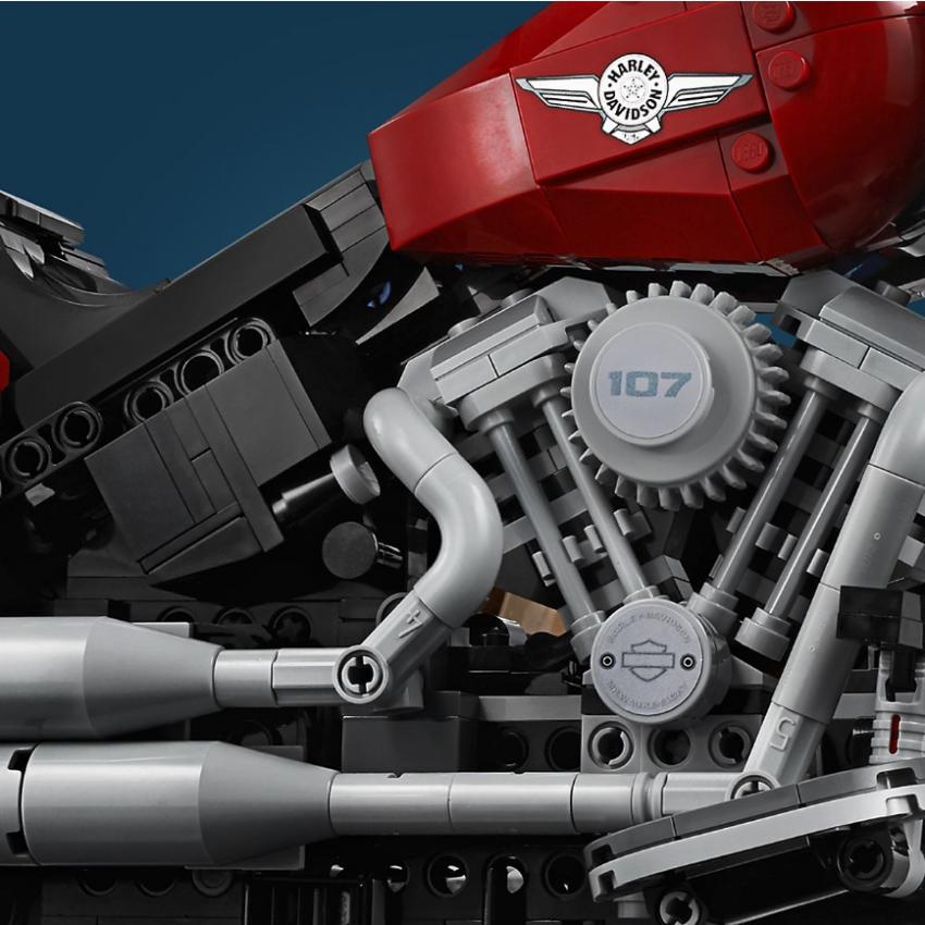 Lego Harley-Davidson Fat Boy on sale August 1 Image #983733