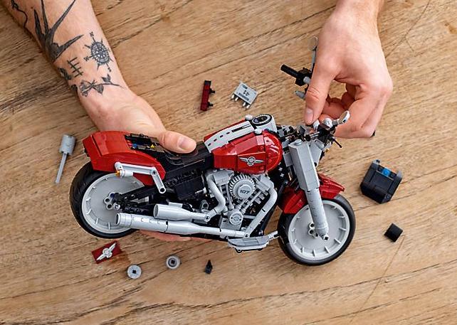 Lego Harley-Davidson Fat Boy on sale August 1 Image #983735